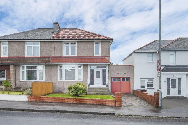 Thumbnail Semi-detached house for sale in 134 Kings Park Avenue, Kings Park, Glasgow
