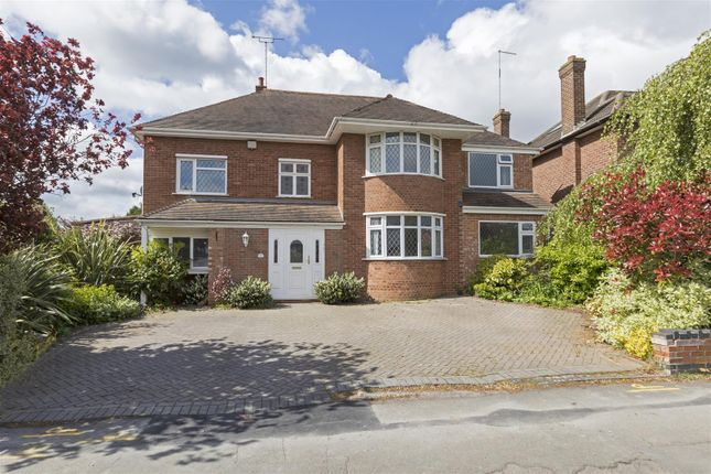 Thumbnail Detached house for sale in Knoll Drive, Styvechale, Coventry
