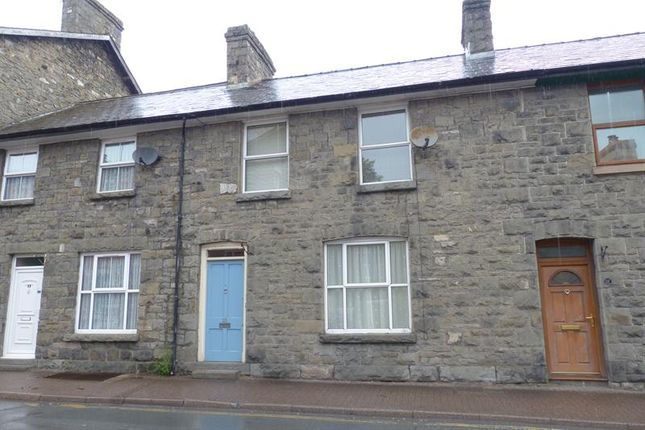 Thumbnail Terraced house to rent in Castle Street, Builth Wells