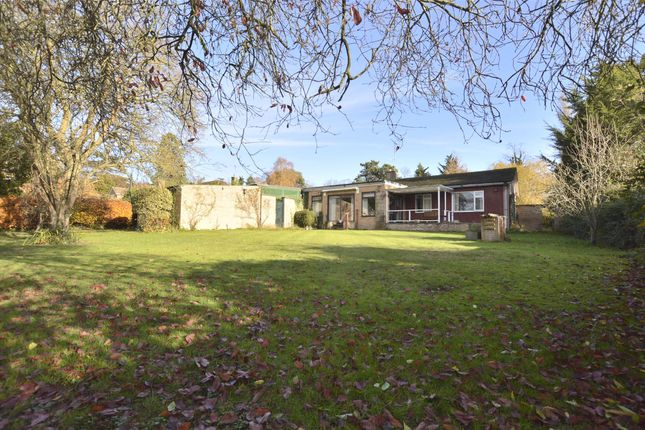 Thumbnail Detached bungalow for sale in Evesham Road, Cheltenham, Glos
