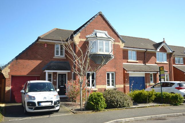 Thumbnail Detached house to rent in Well Oak Park, Exeter