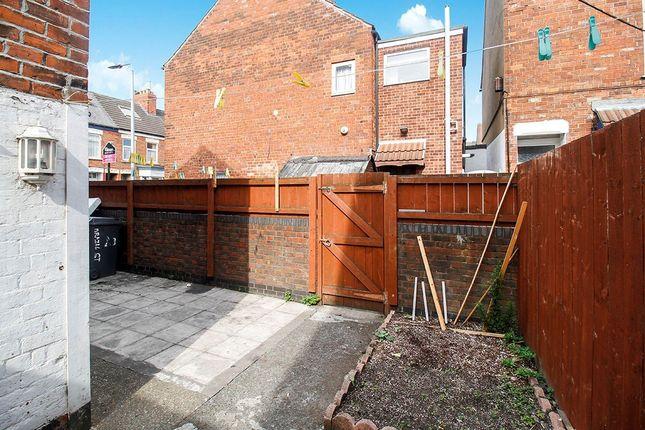 Side Garden of Brazil Street, Hull, East Yorkshire HU9