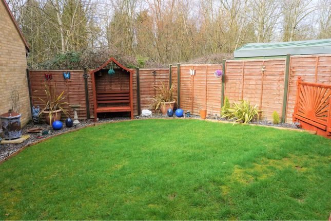 Rear Garden of Crownhill, Milton Keynes MK8