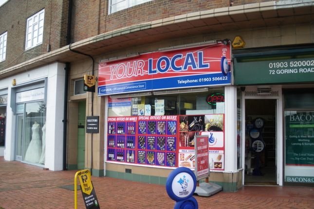 Retail premises for sale in Goring Road, Worthing