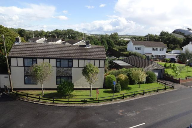 Thumbnail Detached house for sale in Treoes Road, Coychurch, Bridgend
