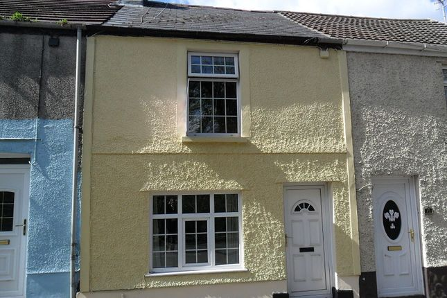 Thumbnail Terraced house to rent in Swansea Road, Trebanos, Pontardawe.