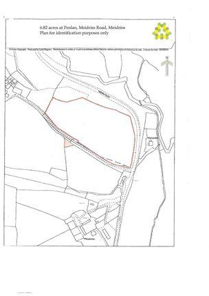 Plan Of The Land of 6.82 Acres Of Land At Penlan, Meidrim Road, Meidrim SA33