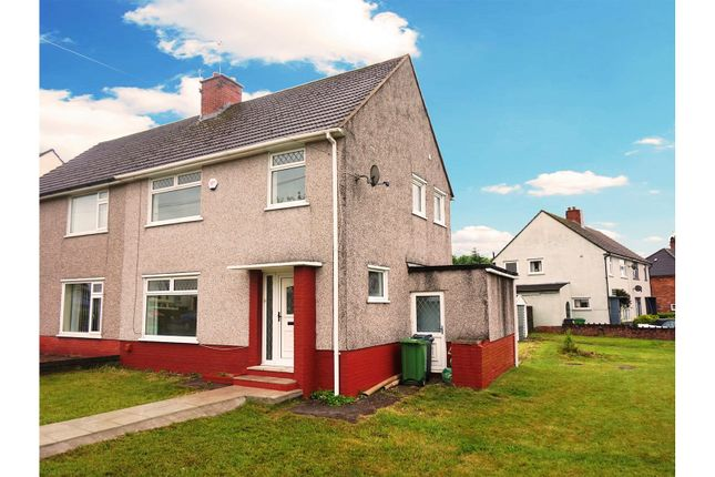 Thumbnail Semi-detached house for sale in Whitebarn Road, Cardiff