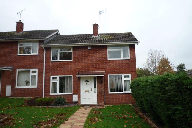 Thumbnail Town house to rent in Otherton Close, Penkridge