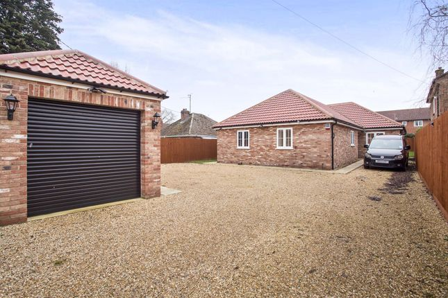 Thumbnail Detached bungalow for sale in Hall Lane, West Winch, King's Lynn