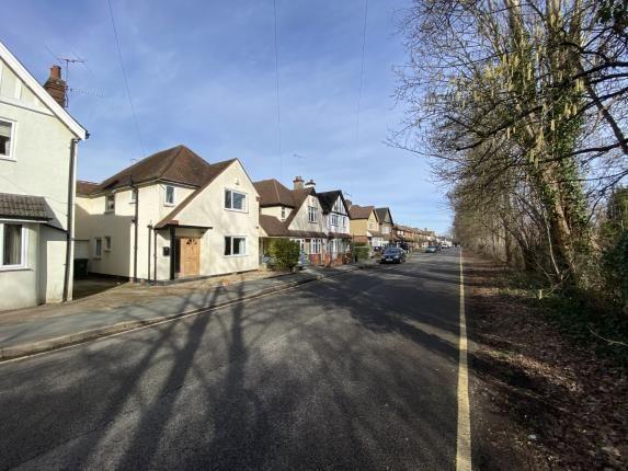 Street Scape of West Byfleet, Surrey KT14
