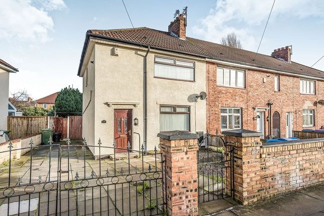 Thumbnail Terraced house to rent in Montrovia Crescent, Liverpool