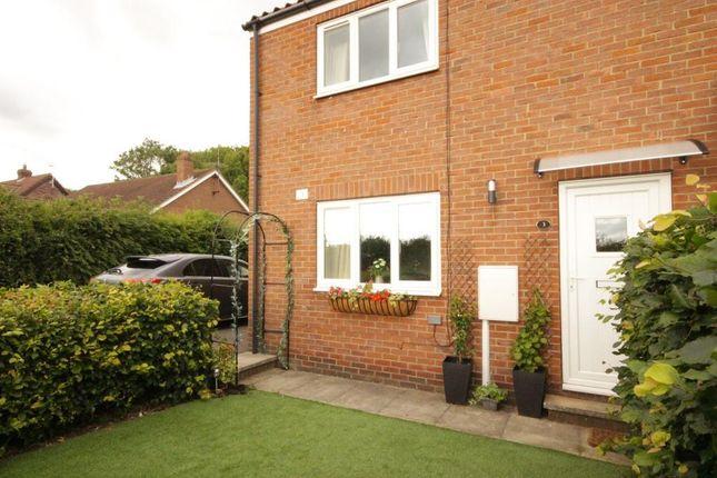 Thumbnail End terrace house to rent in Malton Lane, West Lutton, Malton