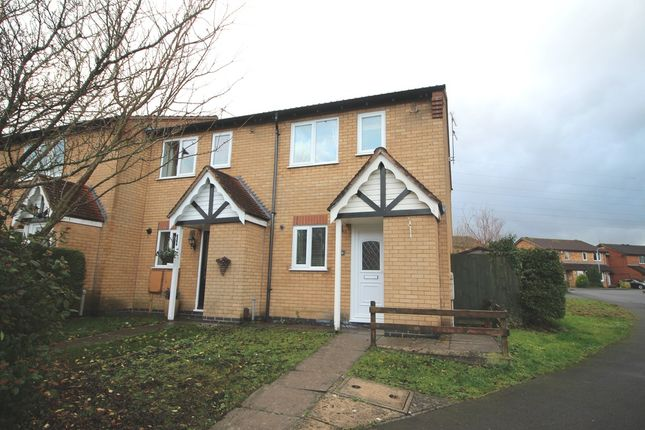 Thumbnail End terrace house to rent in Wentworth Drive, Grantham