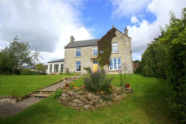 Thumbnail Detached house for sale in The Old Manse With Building Plot, 3 Perth Road, Milnathort, 9Xu, Scotland