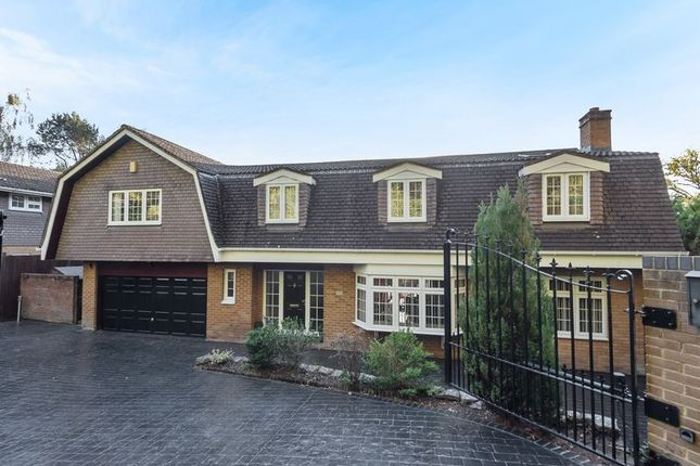 Thumbnail Detached house for sale in St. Catherines Road, Frimley, Camberley
