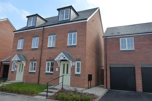 Thumbnail Semi-detached house to rent in Meadow Street, Walsall
