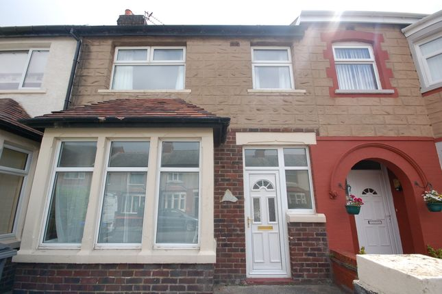 External of Mayfield Avenue, Blackpool FY4