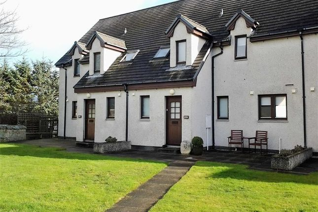 Thumbnail 2 bed terraced house for sale in Links View, Brora, Sutherland