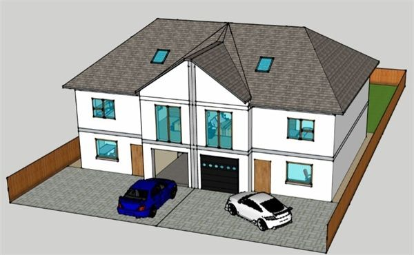 Thumbnail Semi-detached house for sale in La Rue Des Canons, St. Helier, Jersey