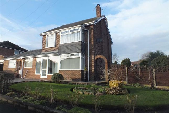 Thumbnail Detached house for sale in Scott Road, Denton, Manchester