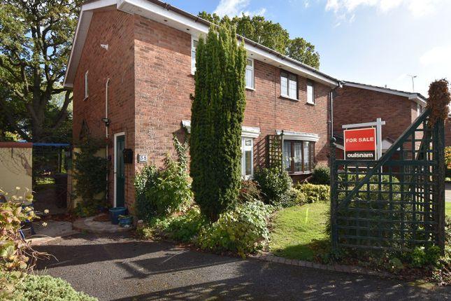 Thumbnail Semi-detached house for sale in Tenbury Close, Church Hill North, Redditch