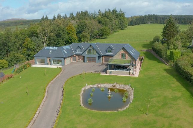 Thumbnail Detached house for sale in Coldrach Farm Road, Drymen, Stirlingshire