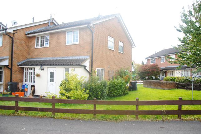 Thumbnail Terraced house to rent in Gifford Road, Strattone Village, Swindon