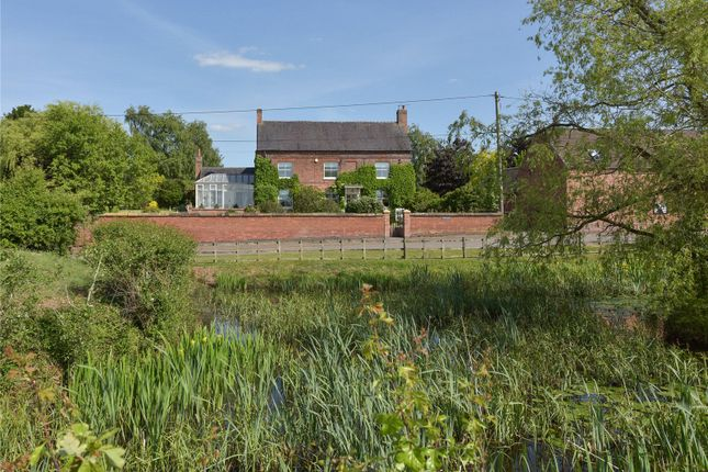 Thumbnail Detached house for sale in Main Road, Upton, Nr Market Bosworth, Warwickshire