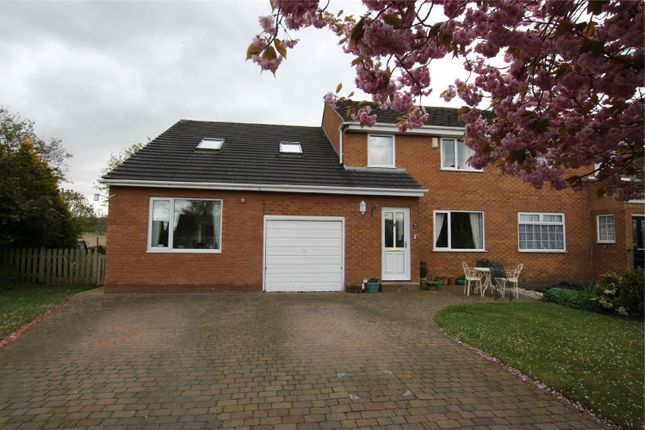 4 bed semi-detached house for sale in 27 Cairn Wood, Heads Nook, Brampton, Cumbria