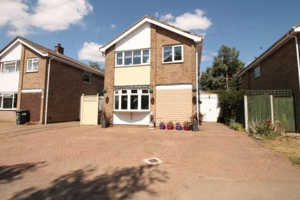 Thumbnail Detached house for sale in Home Close, Staverton