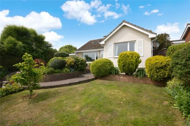Thumbnail Detached bungalow for sale in Oakley Close, Teignmouth, Devon