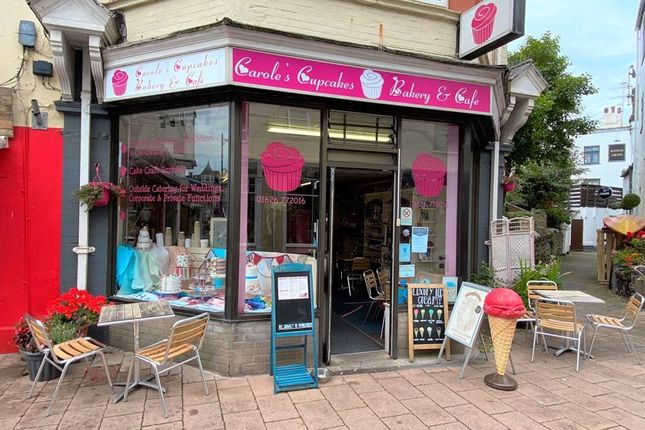 Thumbnail Restaurant/cafe for sale in Regent Street, Teignmouth