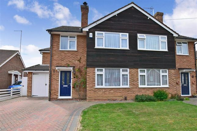 Thumbnail Semi-detached house for sale in Hopgarden Road, Tonbridge, Kent