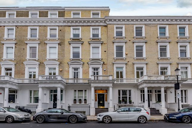 Exterior of Harcourt Terrace, London SW10