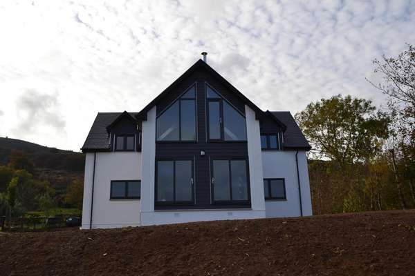 Thumbnail Detached house for sale in New Build At Dippenhead Farm, Whiting Bay, Isle Of Arran