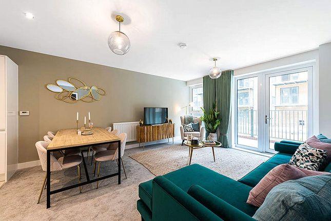 Lounge of Lambourne House, Apple Yard, London SE20
