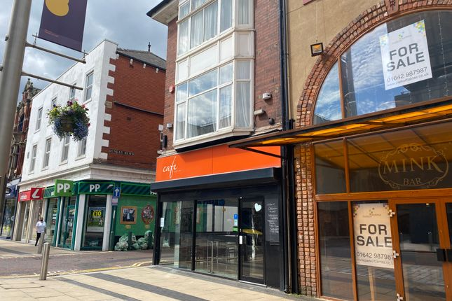Thumbnail Restaurant/cafe for sale in Corporation Road, Middlesbrough
