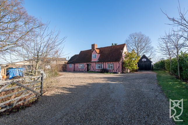 Thumbnail Detached house for sale in Swan Street, Chappel, Colchester