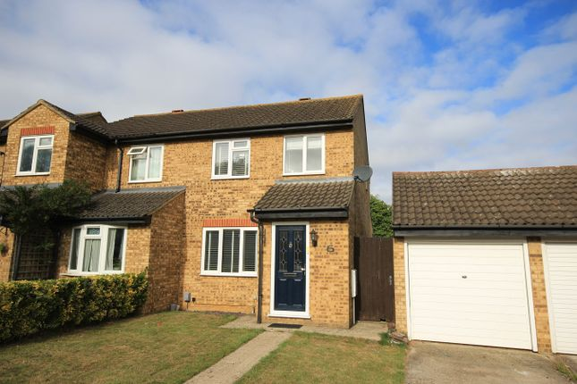Thumbnail Semi-detached house for sale in Avon Rise, Flitwick