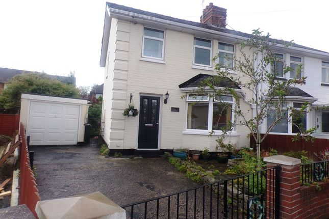 Thumbnail Semi-detached house for sale in Byrne Avenue, Rock Ferry, Birkenhead
