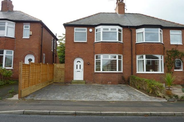 3 bed semi-detached house to rent in Harlow Crescent, Harrogate HG2
