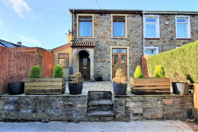 Thumbnail End terrace house for sale in Pleasant View, Ebbw Vale
