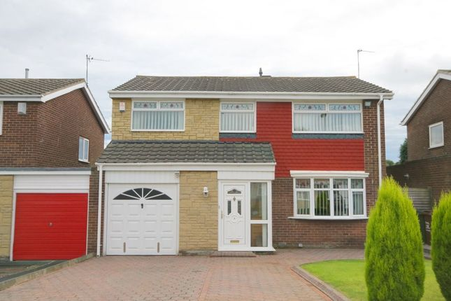 4 bed detached house for sale in Gracefield Close, Chapel Park, Newcastle Upon Tyne