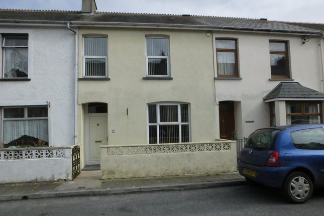 Thumbnail Terraced house to rent in Plas Y Gamil Road, Fishguard, Pembrokeshire