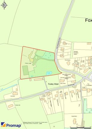 Promap of Old Fakenham Road, Foxley, Dereham, Norfolk NR20