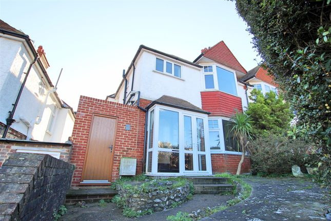 Thumbnail Semi-detached house to rent in Upland Road, Eastbourne