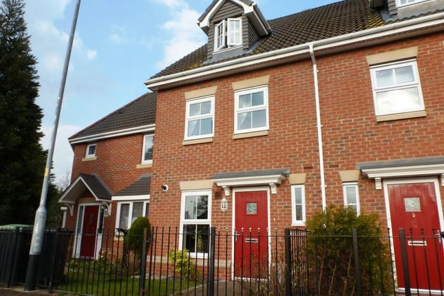 Thumbnail Town house to rent in Tiber Road, North Hykeham, Lincoln