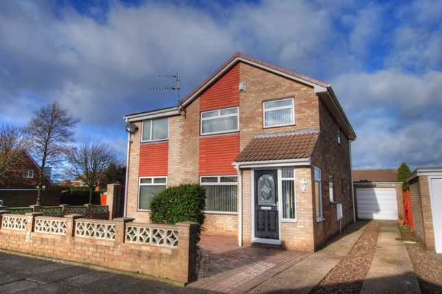 Thumbnail Detached house for sale in Bexhill Square, South Beach Estate, Blyth