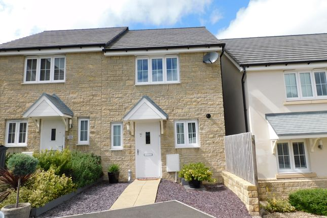 Thumbnail Semi-detached house for sale in Cloakham Drive, Axminster